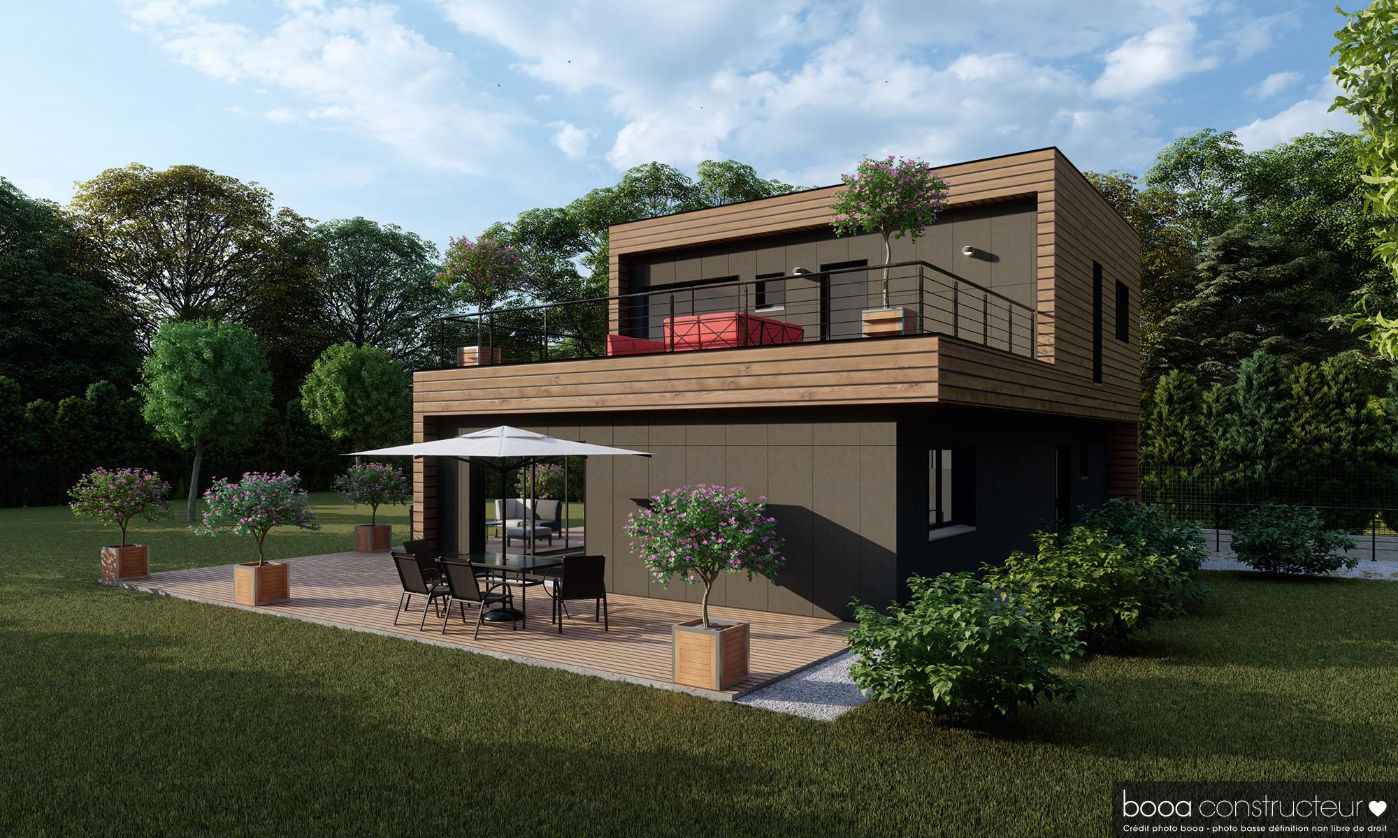 maison ossature bois Marne